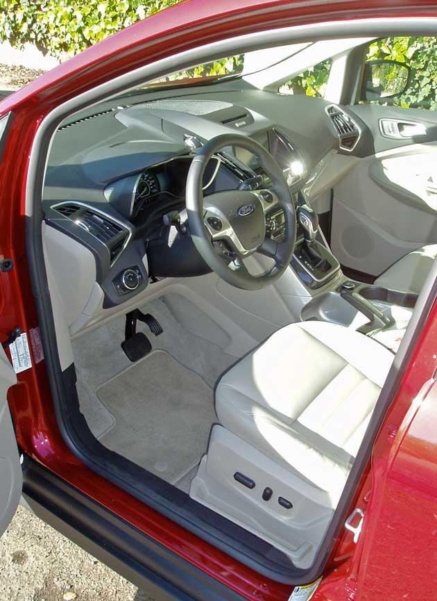 Ford C-MAX Hybrid Interior