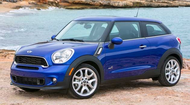 2013 MINI Cooper S Paceman & ALL4 Test Drive