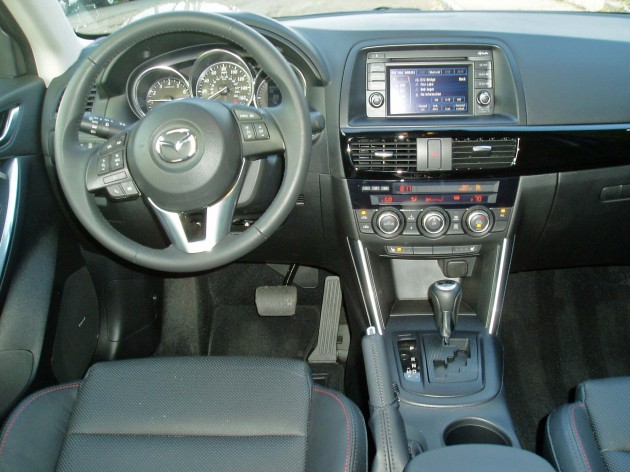 2013 Mazda CX5 - Dashboard