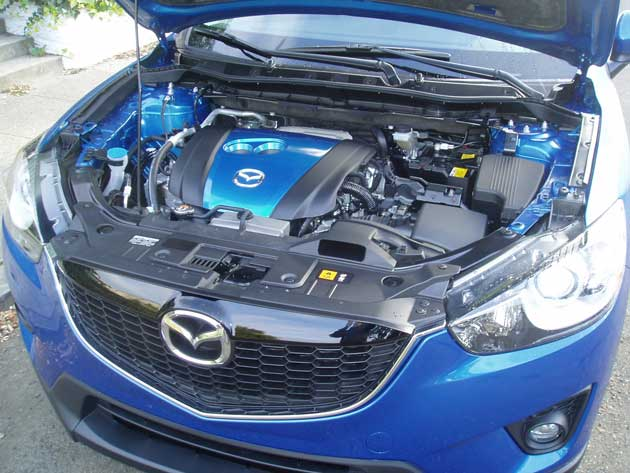 Mazda-CX-5 - Engine