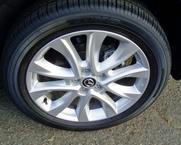 2013 Mazda CX5 - Wheels