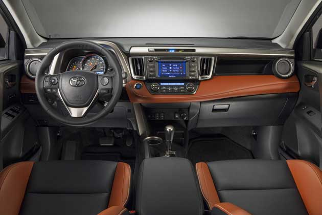 2013 Toyota RAV4 limited interior