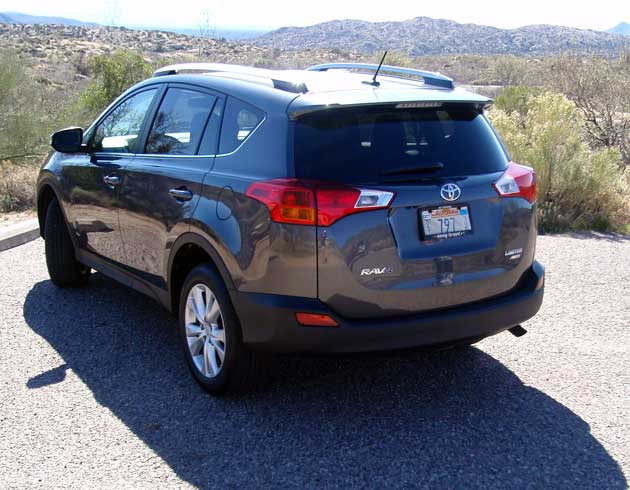 2013 Toyota RAV4 limited rear