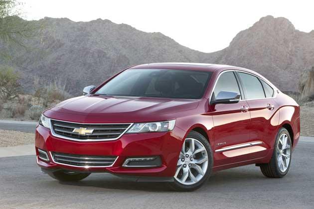 2014 Chevrolet Impala front