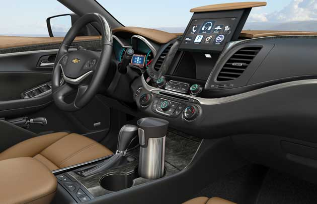 2014 Chevrolet Impala open compartment