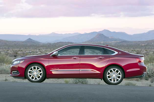2014 Chevrolet Impala side
