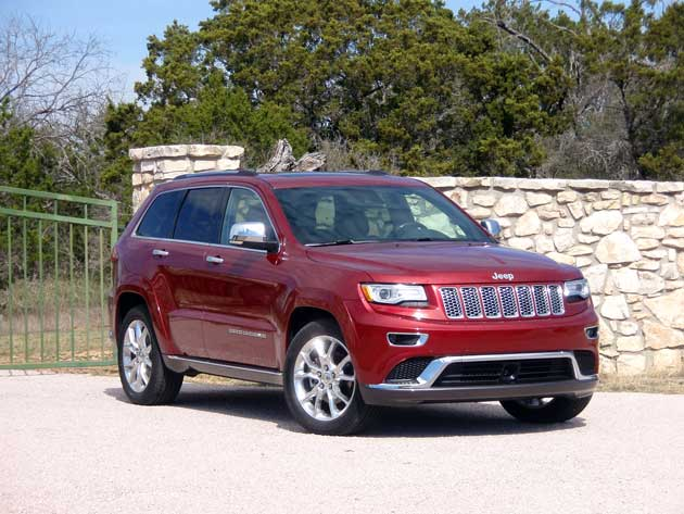 2014Jeep Grand-Cherokee front
