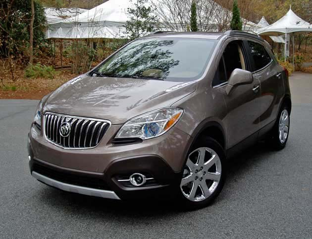 2013 buick encore awd test drive our auto expert. Black Bedroom Furniture Sets. Home Design Ideas