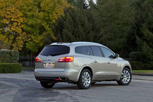 2013 Buick Enclave rear