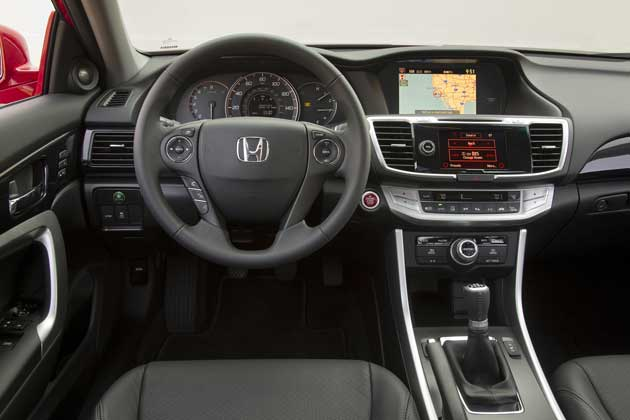 2013 Honda Accord coupe dash