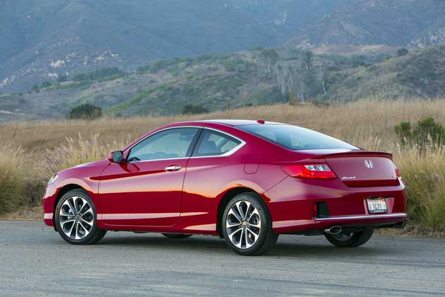 2013 Honda Accord coupe rear