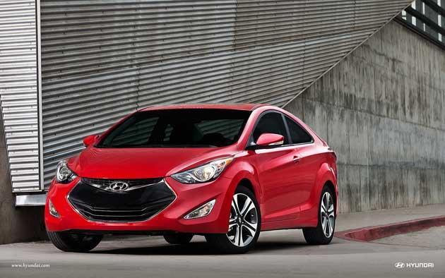 2013 Hyundai Elantra Cfront