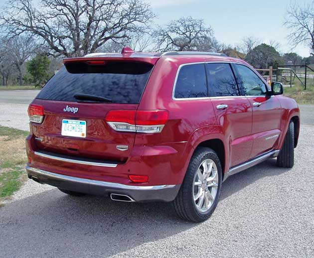 2014 jeep grand cherokee summit test drive our auto expert. Black Bedroom Furniture Sets. Home Design Ideas