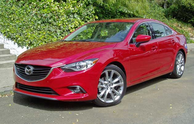 2014 mazda6 i grand touring test drive our auto expert. Black Bedroom Furniture Sets. Home Design Ideas