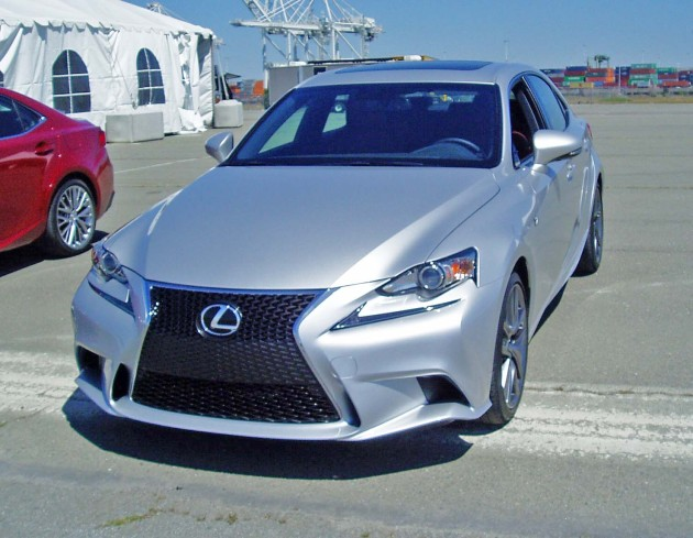 2014 Lexus IS 250 and IS 350