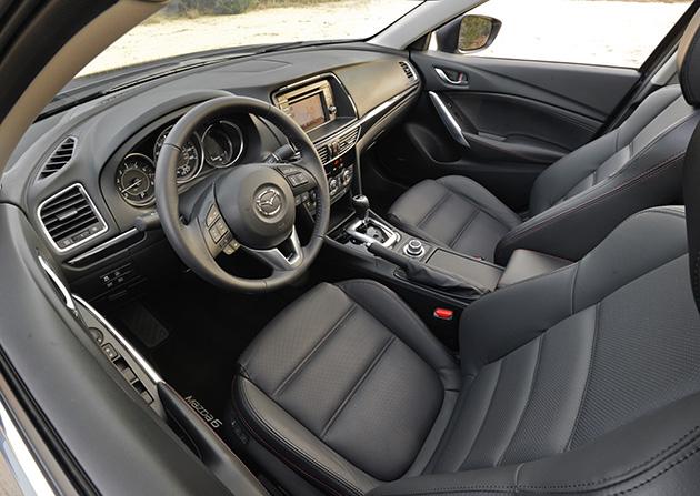 2014 Mazda6 interior