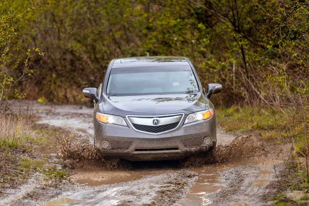 Acura RDX AWD Tech off-road