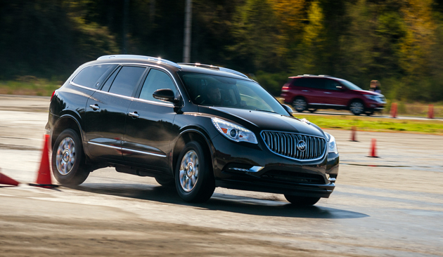 Buick Enclave AWD-On-road