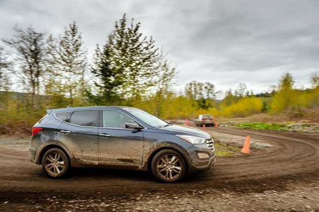 Hyundai Santa Fe Sport off-road