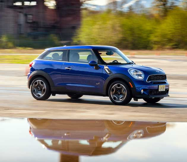 Mini Cooper S Paceman On-road
