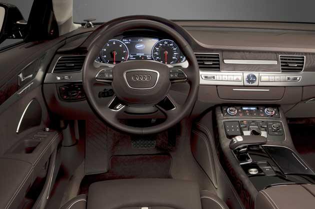 2013 Audi A8L dash