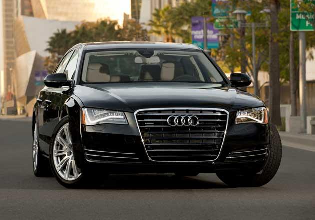 2013 Audi A8L front