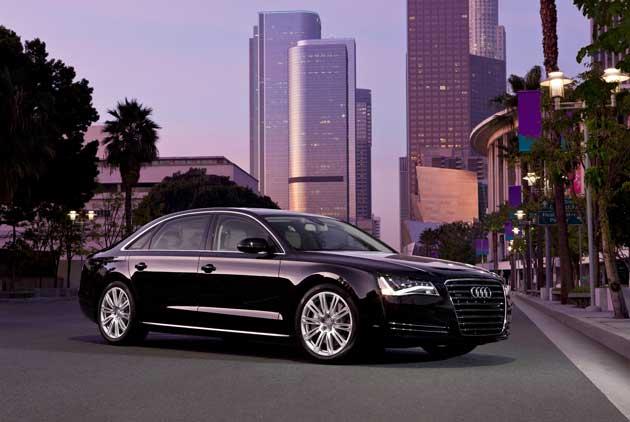 2013 Audi A8L frontQ