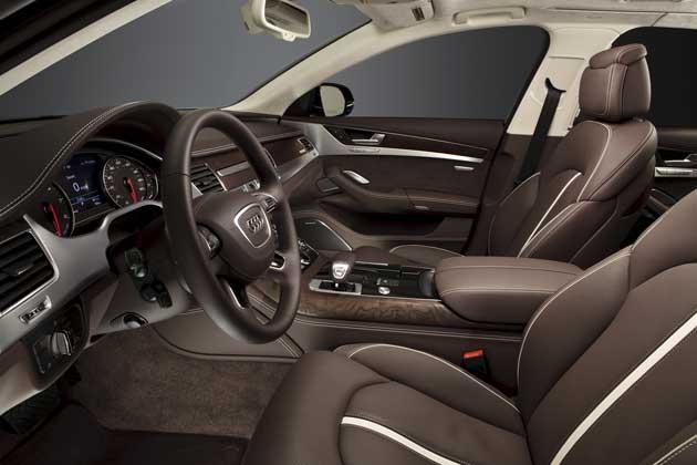 2013 Audi A8L interior