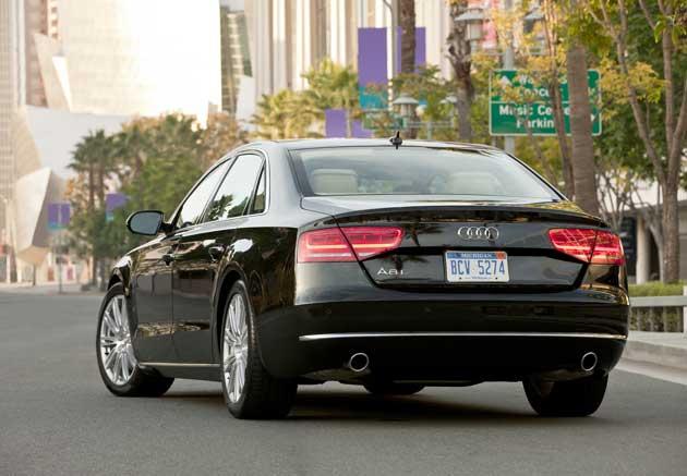 2013 Audi A8L rear
