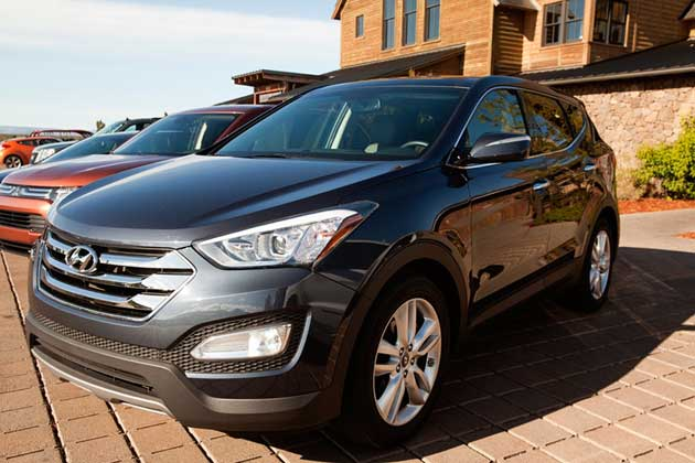 Heels & Wheels 2013 Hyundai Santa Fe