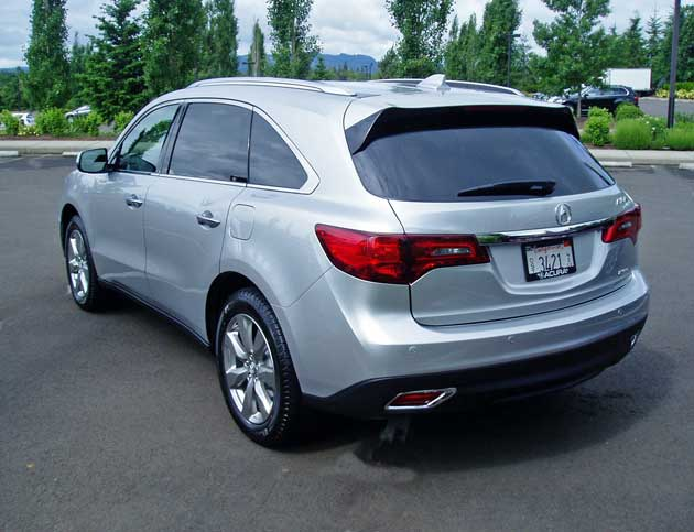 2014 acura mdx test drive our auto expert. Black Bedroom Furniture Sets. Home Design Ideas
