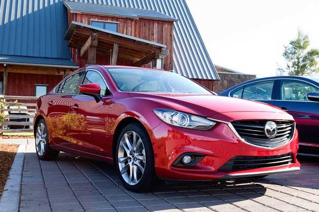 Heels & Wheels 2014 Mazda6
