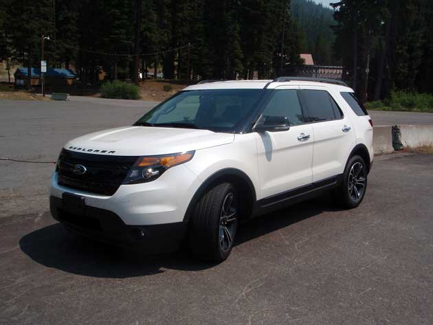 2013 ford explorer sport frontl - Ford Explorer Blacked Out