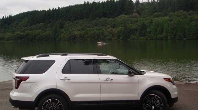 2013 Ford Explorer Sport Test Drive