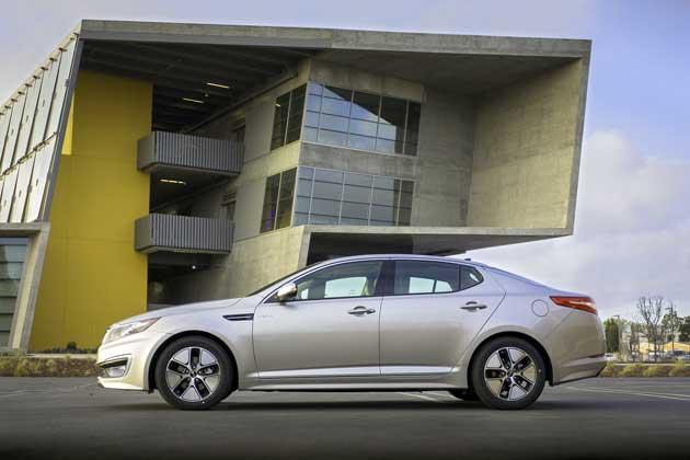 2013-Kia-Optima-Hybrid-side