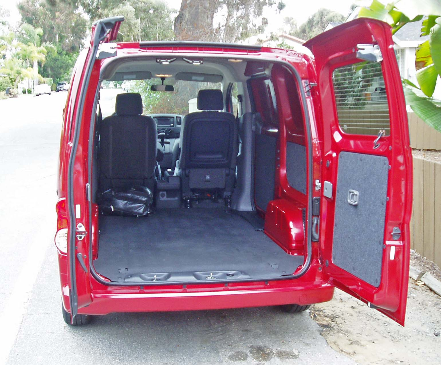 2013 Nissan Nv200 Compact Cargo Van Test Drive Our Auto