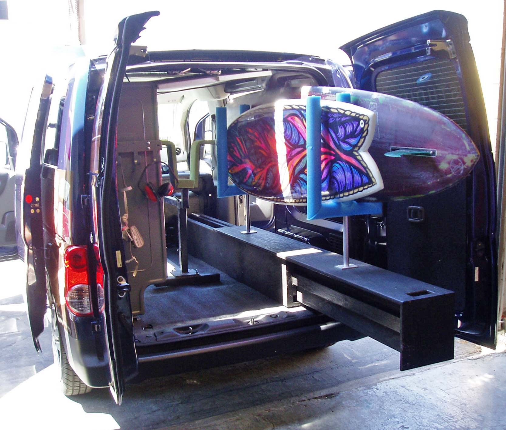 Nissan Nv Passenger Van >> 2013 Nissan NV200 Compact Cargo Van Test Drive | Our Auto ...