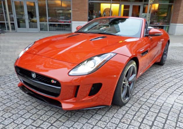 2014 Jaguar F-Type S FF