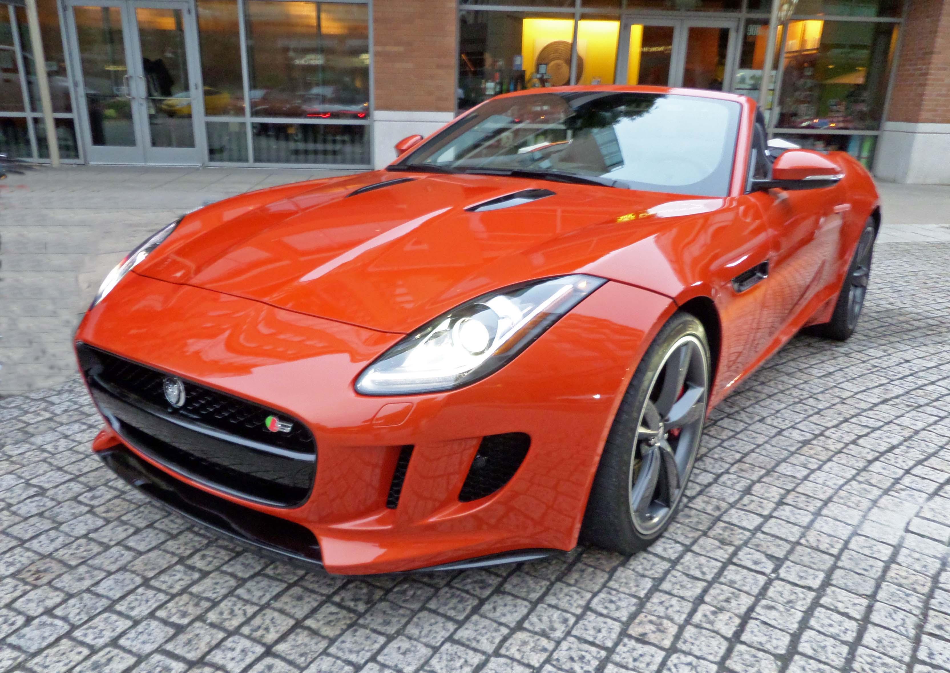 2014 Jaguar F-Type Test Drive