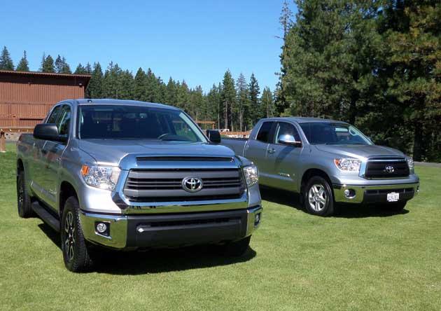 2014 Toyota Tundra Test Drve