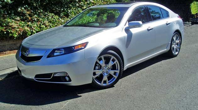 2013 Acura TL SH-AWD Advance Test Drive