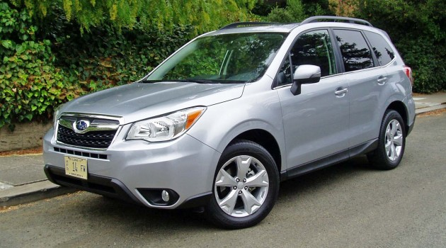 2014 Subaru Forester 2.5i Touring Test Drive
