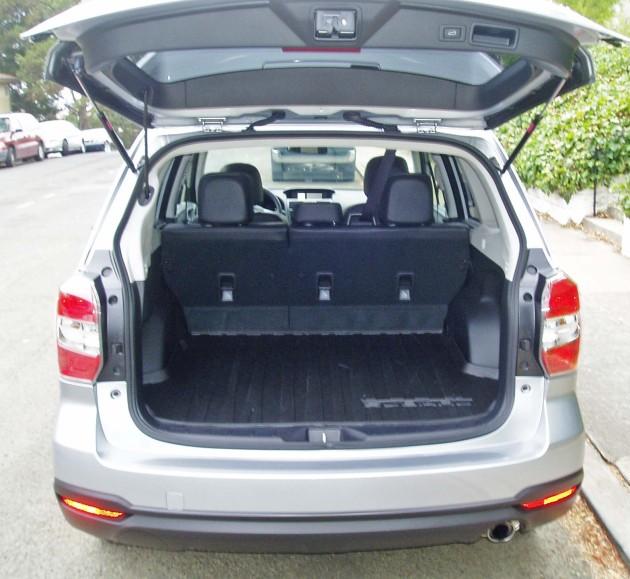 2014 Subaru Forester cargo