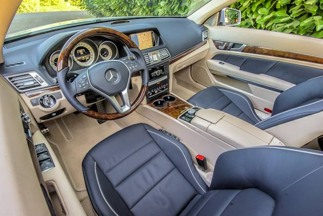 2014 Mercedes-Benz E-550 Cabrio interior