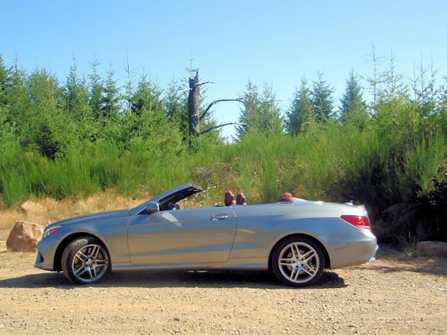 2014 Mercedes-BenzE-550 Cabrio sides