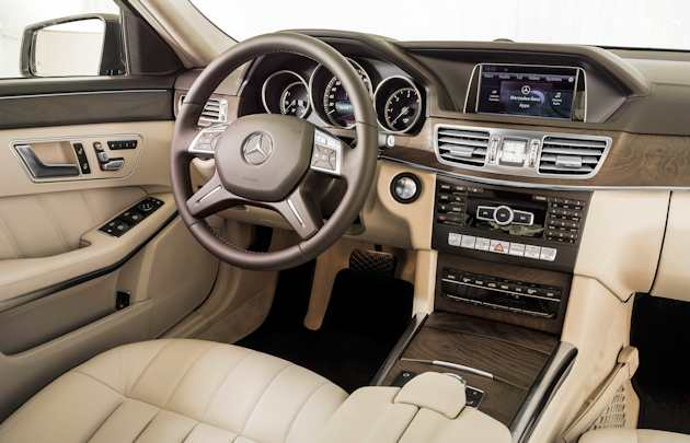 2014 Mercedes-Benz E250 interior