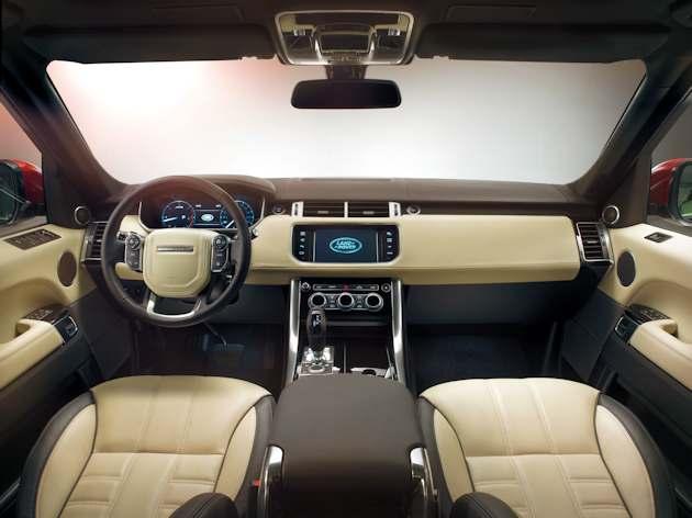 2014 Range Rover Sport dash