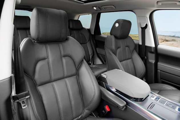2014 Range Rover Sport seats