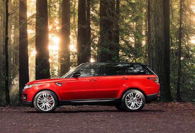 2014 Range Rover Sport side