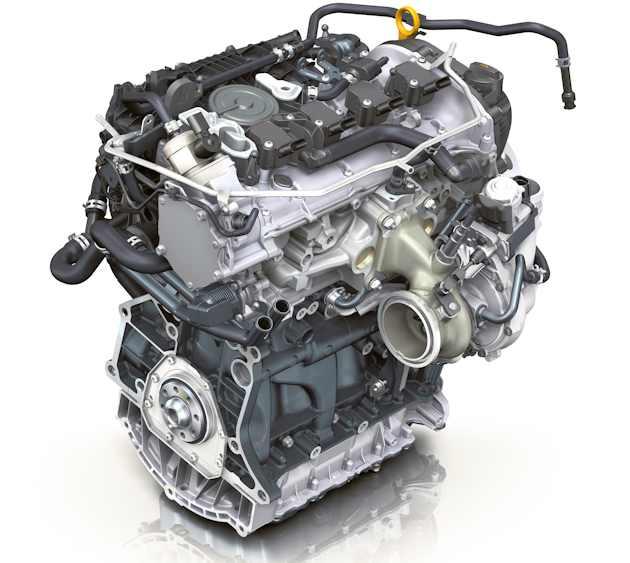 2014 VW 1.8L turbo engine